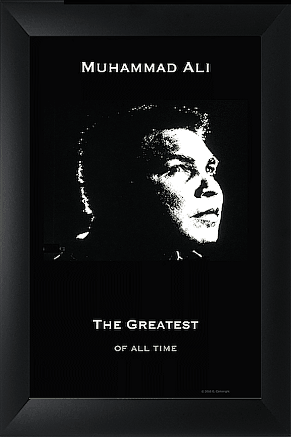 Poster Photo Art - Ali The Greatest