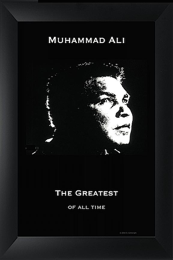 Poster Photo Art - Ali The Greatest