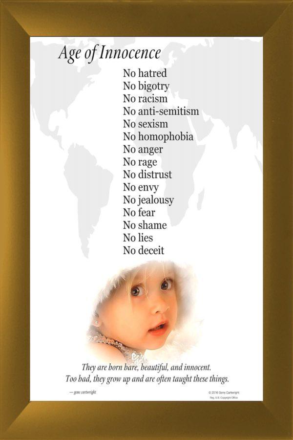 Poster Photo Art: Kids Teach Love