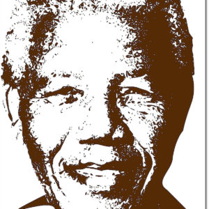 Poster Photo Art - Mandela