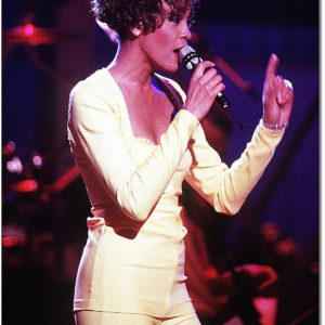 Poster Photo Art- Whitney Houston
