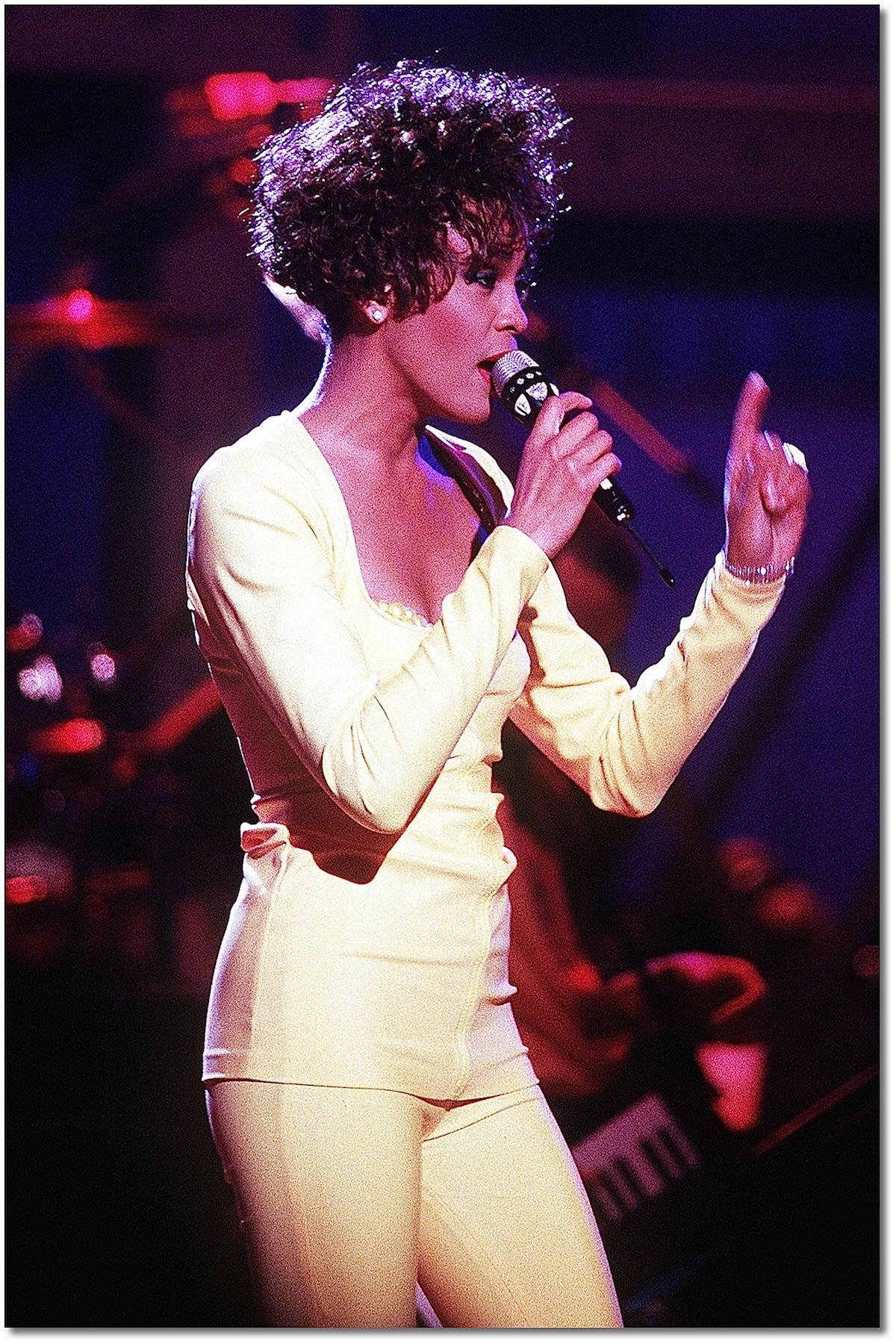 Poster Photo Art- Whitney Houston
