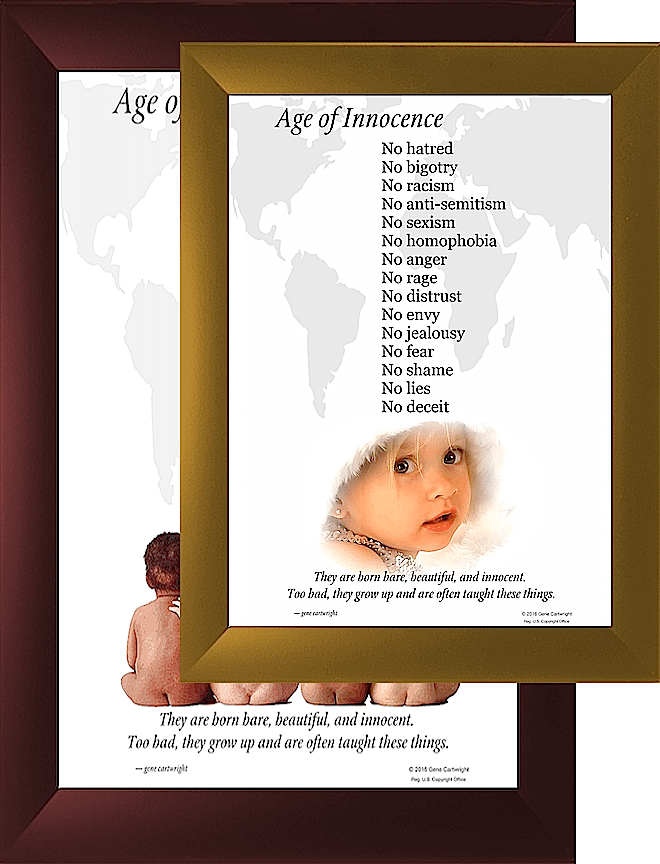 Poster Photo Art - Age of Innocence