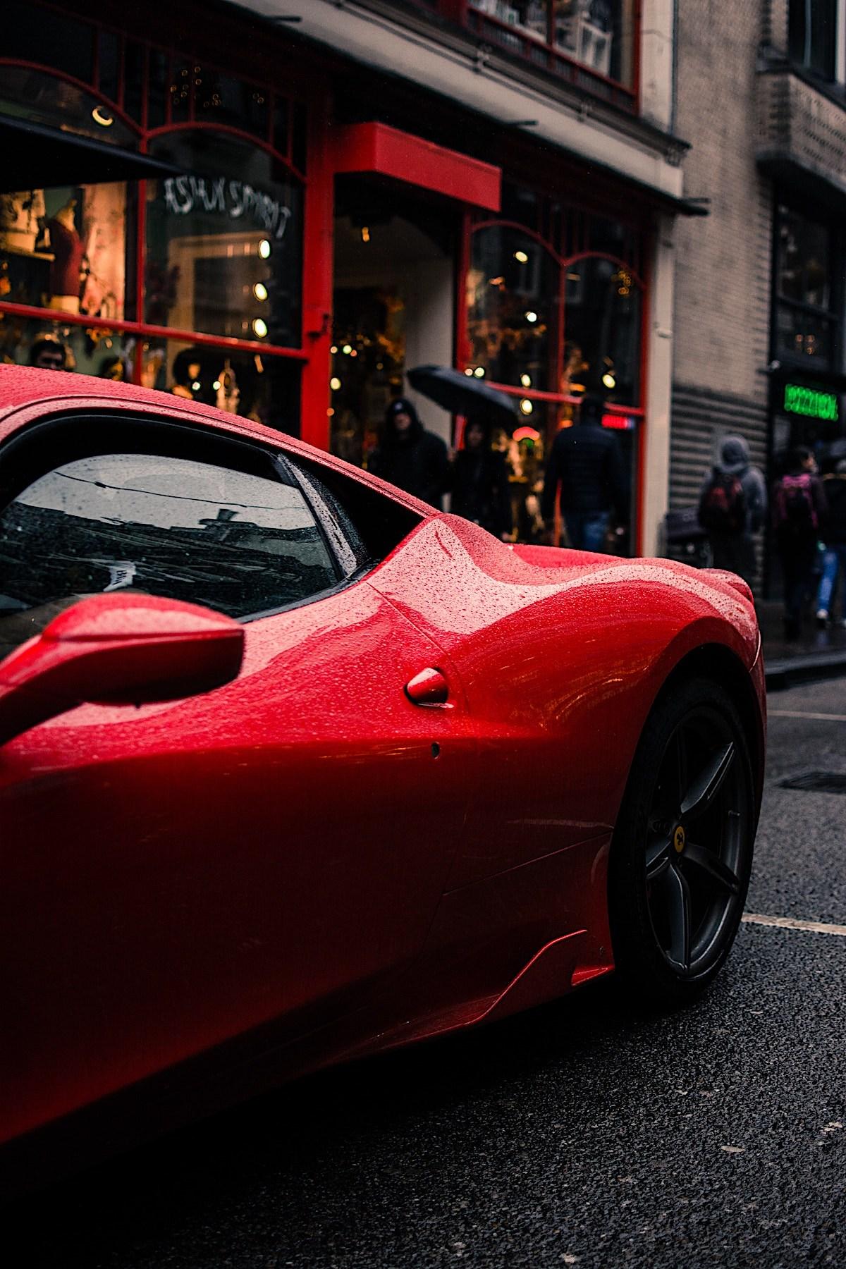 Red Ferarri