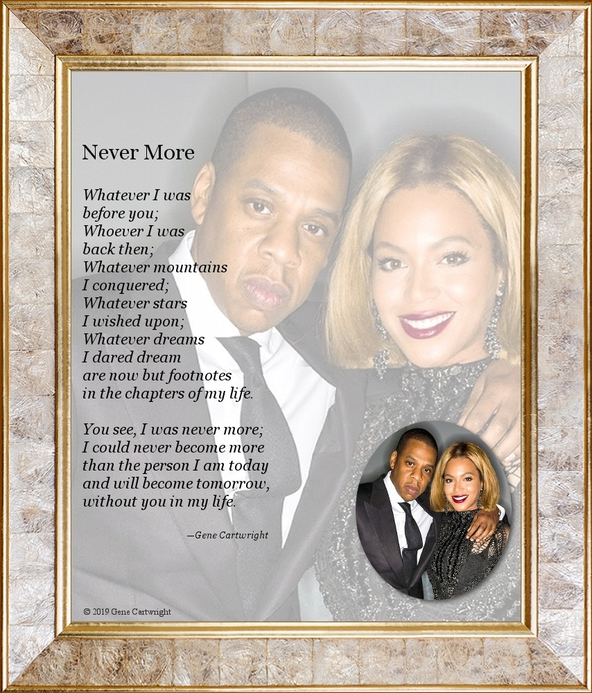Beyoncé and Jay-Z 'Nevermore'