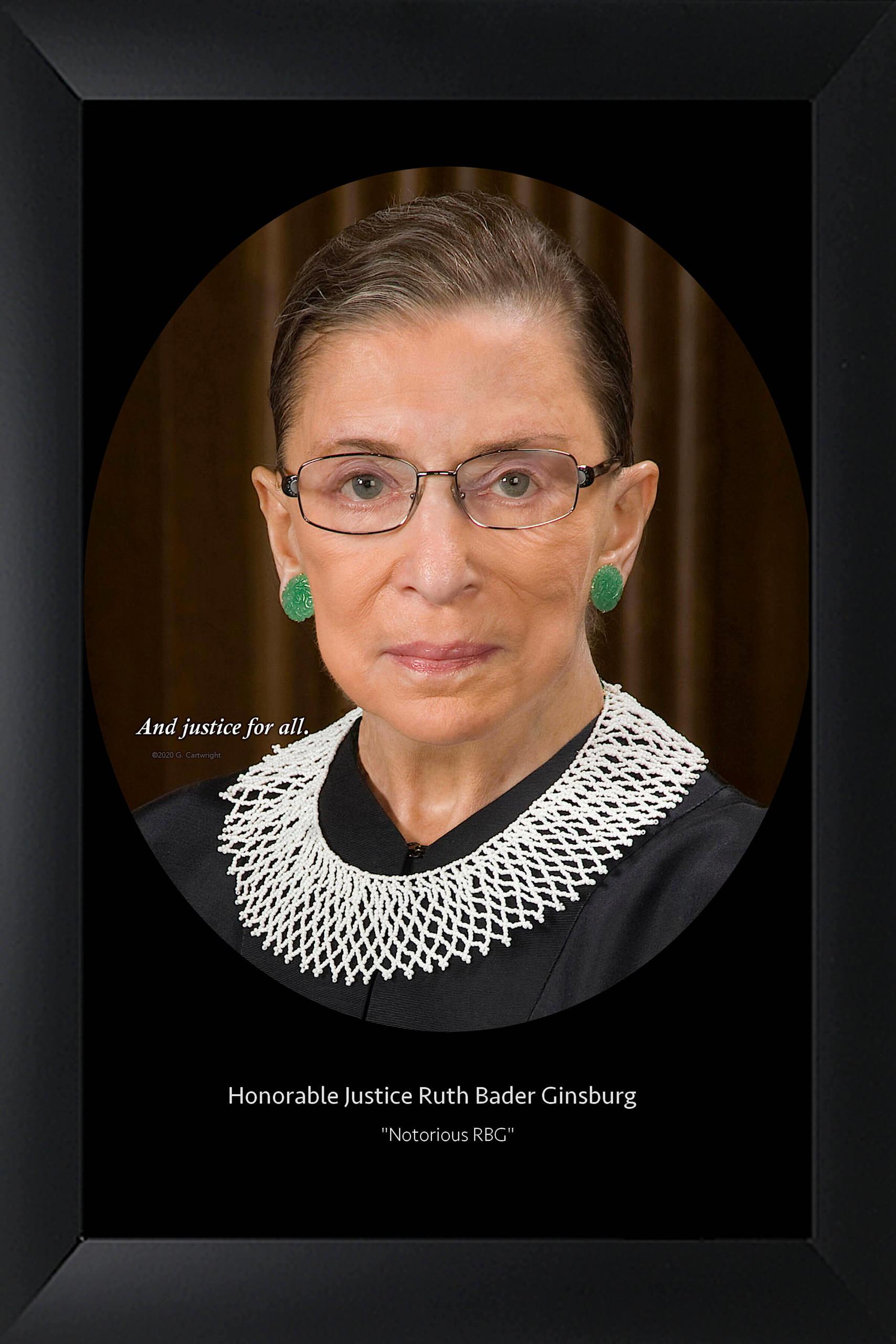 Notorious RBG- Justice Ruth Bader Ginsburg